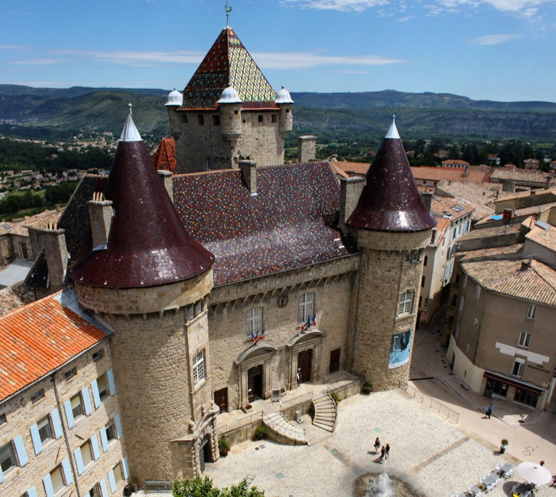Aubenas chateau