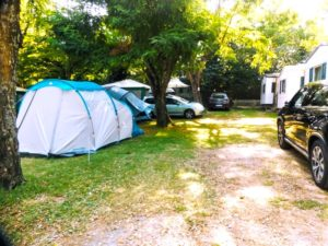 emplacement de camping à Sampzon