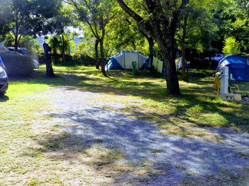 Emplacement De Camping En Ardche Sud  Vallon Pont DArc Ruoms  Le Sun