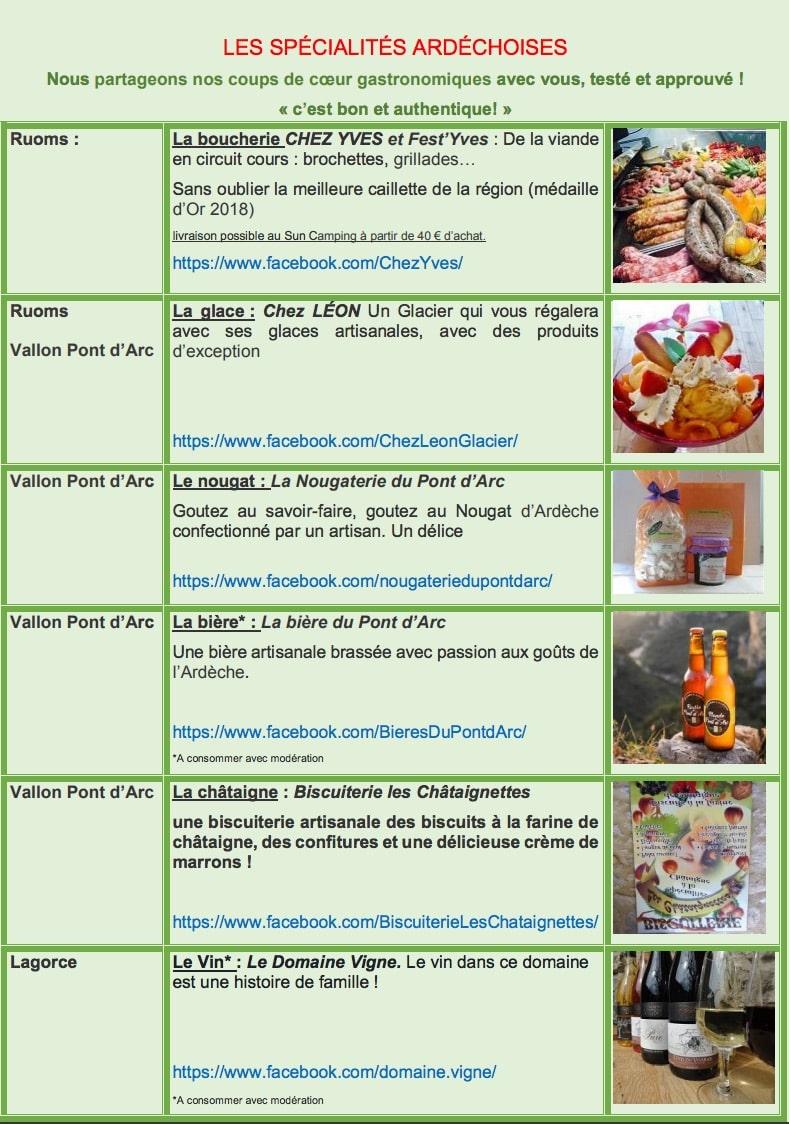 gastronomie ardeche specialités culinaires